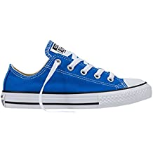 Converse Chuck Taylor All Star Junior Soar Blue Textile Trainers