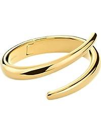 Calvin Klein Damen-Armreif Embrace Edelstahl One Size, gold