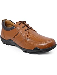 Red Chief Men's Leather Boat Shoes