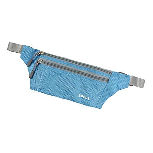 Sharplace Marsupi da Escursionismo Borsa Ciclismo Sportivo da Trekking Campeggio - Grigio Blu chairo