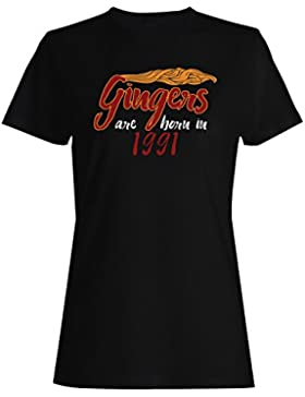 Gingers nacen en 1991 camiseta de las mujeres c292f