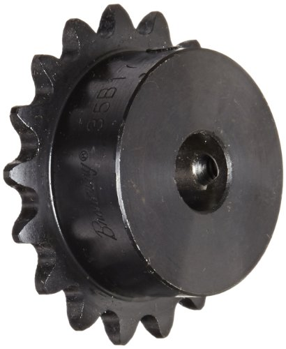 Browning H3517X 1/2fertige Bohrung Roller Kettenrad, Single Strand, Stahl, gehärtete Zähne, 17Zähne -