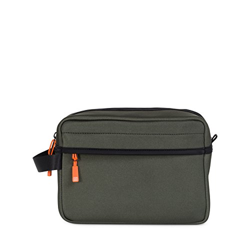 Herschel Chapter Rifle Green/Neon Orange