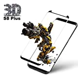 Jfshun Galaxy S8 Plus Panzerglas Schutzfolie, Hohe Qualität 3D Displayschutzfolie [Ultra Klar] [9H Härtegrad] [Anti-Kratzen] Gehärtetes Glas Panzerglas Folie für Samsung Galaxy S8 Plus