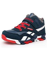 Botas de Nieve para niños Botas de Deporte de Invierno para niño Zapatillas de Deporte para niños Zapatos Casuales