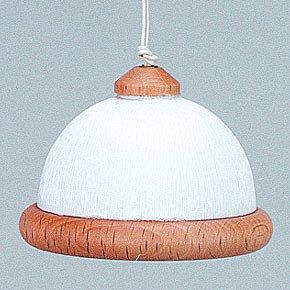 Kahlert 10.568 luz - Muñeca Mini Accesorios - Colgando Blanco de la lámpara,