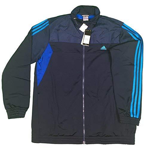 adidas TS Train KN OC Sportanzug Trainingsanzug Herren Blau Freizeitanzug