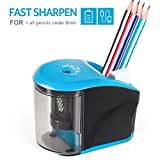 Best Pencil Sharpeners For Classrooms - Electric Pencil Sharpener, INVOKER Auto Pencil Sharpeners Heavy Review