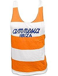 Amnesia Ibiza: Camiseta sin Mangas Hombre con Logo Clásico