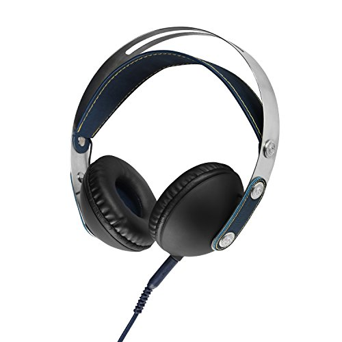 Akai A58032BL Classic On-Ear Headphones, 1000 mW - Blue