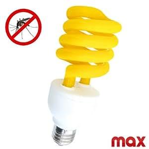 LAMPADINA LAMPADA SCACCIA ANTI ZANZARE ZANZA STOP ATTACCO E27 POTENZA 25W ANTIZANZARE