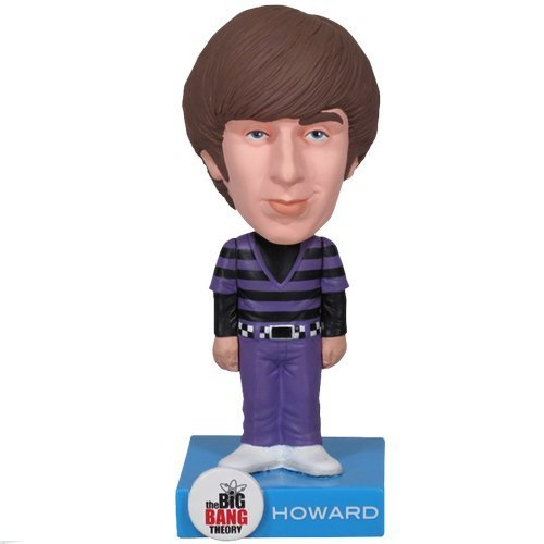 FunKo [UK-Import] Big Bang Theory Howard Wolowitz Bobble Head