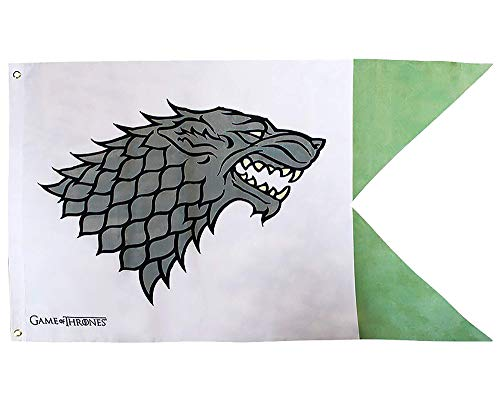 Game Of Thrones Stark Bandera Unisex adulto, 70 x 120 cm, abydct015