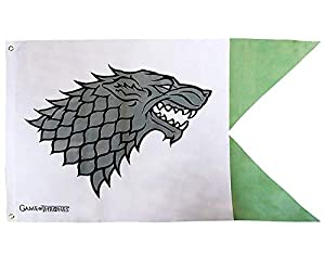 ABYstyle - Game Of Thrones Stark Bandera Unisex adulto, 70 x 120 cm, abydct015