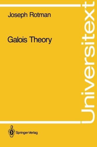Galois Theory (Universitext)