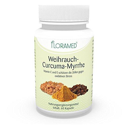 Myrrhe, Weihrauch (Weihrauch-Curcuma-Myrrhe Kapseln)