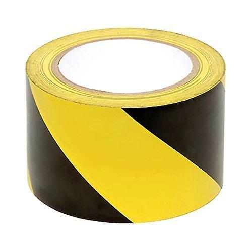 Bereich Regal (WINGONEER Gelb und Schwarz Warnband für Gefahrenhinweise Ideal Für Wände, Böden, Regale, Pfosten, Rohre und andere Bereiche, die Vorsicht erfordern - Breite 10 cm lang 36 Yards)