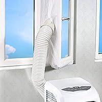 xiaoyi Joint de fenêtre pour climatiseur Mobile, AirLock, Compatible avec Tous Les climatiseurs et Tous Les tuyaux (300CM)