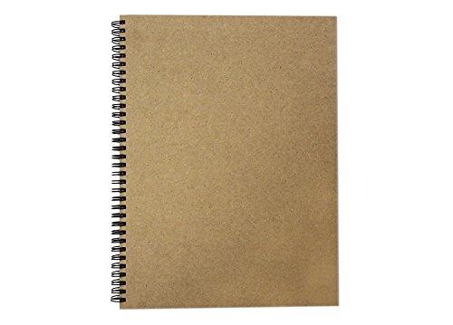A4 (Hochformat) Recycling-Skizzenbuch, 40 Blatt (80 Seiten) aus 170 g / m²...