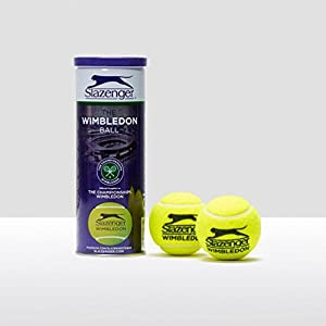 Slazenger WIMBLEDON Tennis Ball TIN 3 Balls Review 2018