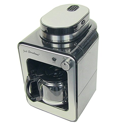 Jack Stonehouse Grind and Brew Bean to Cup Coffee Machine, Coffee Maker One Touch Automatic ...