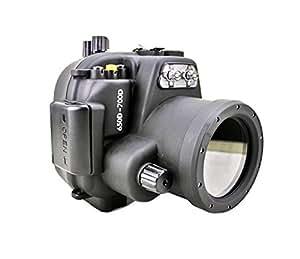 Polaroid SLR Caisson étanche de plongée pour l'appareil-photo Canon T4I (650D), T5I(700D) with a 18-55mm objectif