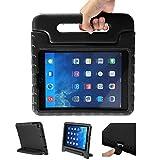 iPad 9.7 2017 Kinder Schutzhülle LEADSTAR Kinderfreundlich Kinder Schutz Hülle EVA Case Leichte Stoßfeste Schutzhülle Tasche Cover für Apple iPad Air / iPad Air2 / iPad 9.7 2017 (Schwarz)
