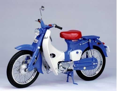 HONDA SUPERCUB C100 - Diecast (Blue)