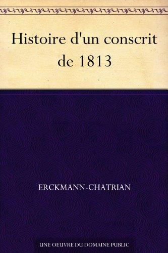 Couverture du livre Histoire d'un conscrit de 1813