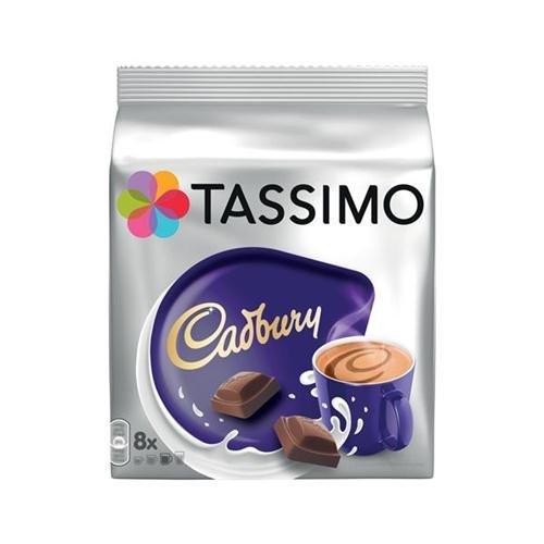 TassimoTM Cadbury®, Heiße Schokolade, Kakao, 5 Packungen