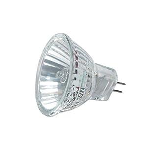 Avalva 0575 Aluminium Reflector Lamp 35 W/G5.3-Silver