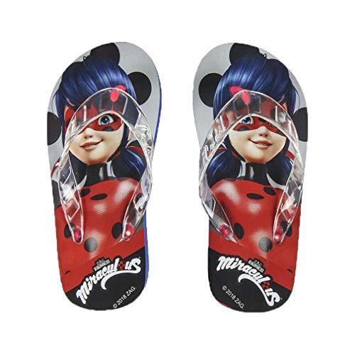 Flip-flops with LEDs Lady Bug 73087