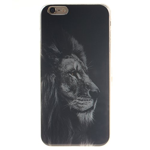 Coque Housse pour iPhone 6 Plus / 6S Plus (5,5 Zoll), iPhone 6 Plus / 6S Plus (5,5 Zoll) Coque Silicone Etui Housse, iPhone 6 Plus / 6S Plus (5,5 Zoll) Souple Coque Etui en Silicone, iPhone 6 Plus / 6 Lion