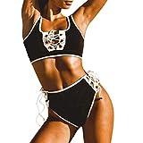 Luckycat Mujeres Bikini Conjuntos Bikini Mujer 2018 Push Up Brasileño Traje de Baño Push-up Acolchado Enrejado Sujetador Traje de baño Ropa De Baño con Relleno Encaje