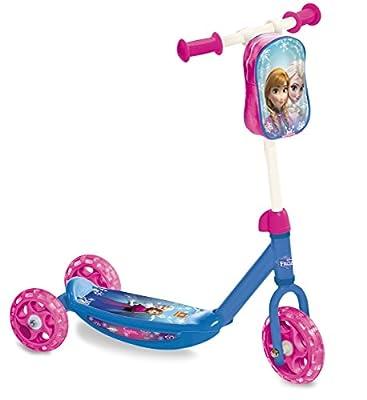 Disney Frozen - Patinete de 3 ruedas con bolsa (Mondo Toys 28222) por Mondo Toys