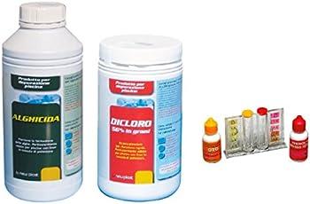 New Plast 3003 - Kit completo per l'Avviamento Depurazione Acqua Piscina, per modelli da 9 a 11 m3