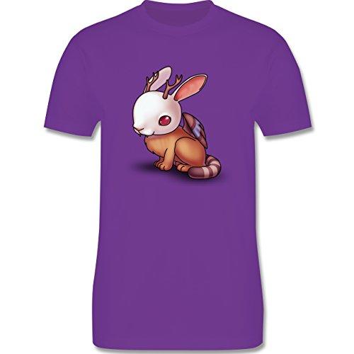 Sonstige Tiere - Wolpertinger - Herren Premium T-Shirt Lila