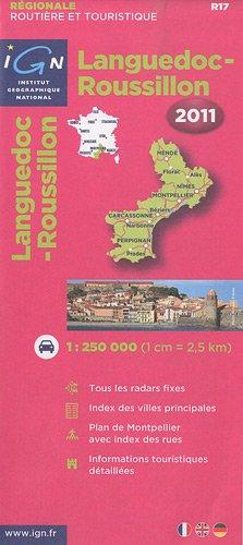 R17 Languedoc/Roussillon 2011 1/250.000