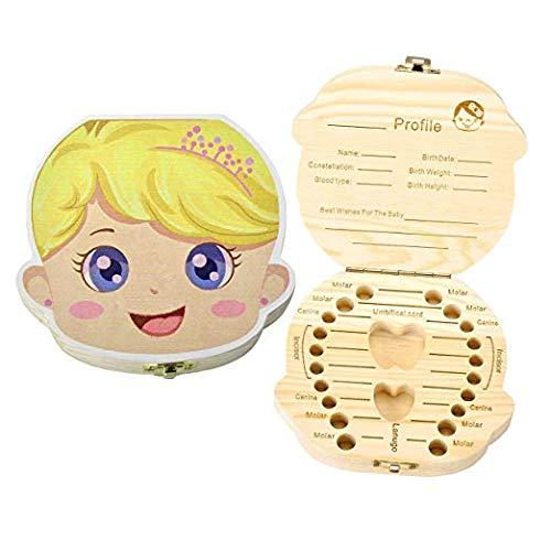 munchkin land Baby's Tooth Box Keepsake Princess Organizer