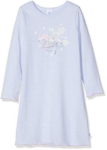 Sanetta Mädchen Sleepshirt Nachthemd, Blau (Oxford Blue 50230.0), 98
