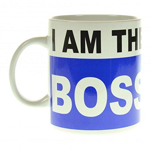 Der I am the Boss XXL Kaffeebecher
