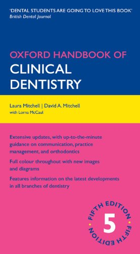 Oxford Handbook of Clinical Dentistry (Oxford Handbooks Series)