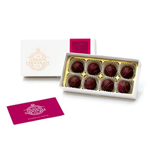 The London Chocolate Company - Raspberry Gin Truffles Gift Box, 110g