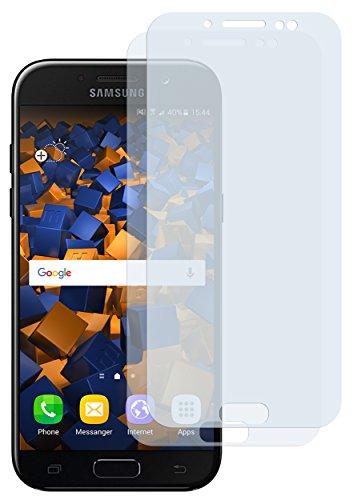 mumbi Schutzfolie kompatibel mit Samsung Galaxy J5 2017 Folie klar, Displayschutzfolie (2x)