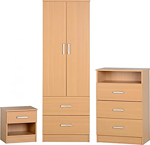 Polar Bedroom Set (Brown)