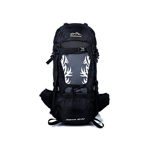 YAAGLE Neu Outdoor Sport Bersteigen Tasche Camping Rucksack professionelle wasserdichte Radfahrentasche Damen und Herren Unisex-blau schwarz