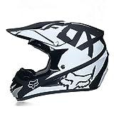 Generic Dirt Bike Motocross Helme Sonnenbrillen ATV MTB Off Road Moto Helme Herren Integral...