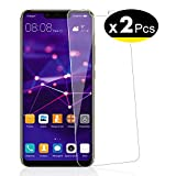 NEW'C Verre Trempé pour Huawei Mate 20 Lite/Honor Play,[Pack de 2] Film Protection écran - Anti Rayures - sans Bulles d'air -Ultra Résistant (0,33mm HD Ultra Transparent) Dureté 9H Glass