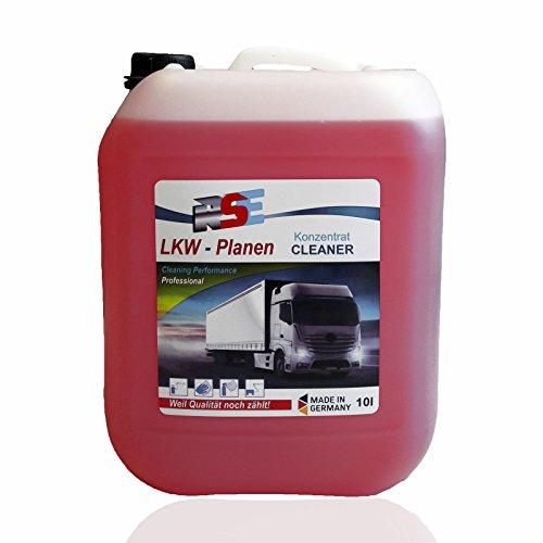 RSE Zeltplanenreiniger Planenreiniger LKW Nutzfahrzeug Reiniger Hochkonzentrat 10 Liter