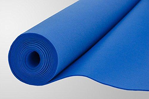Filz, Filzstoff, Dekorationsfilz, Weicher Filz, Breite 150cm, Dicke 3mm, Meterware 0,5lfm – blau - 4